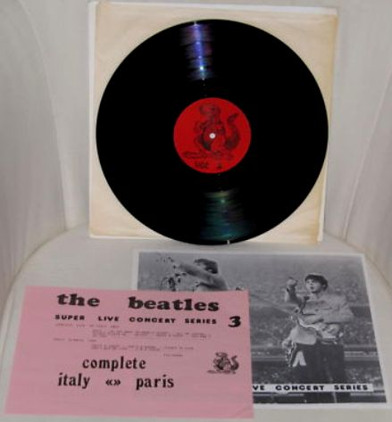 Beatles Italy Paris SLCS 3