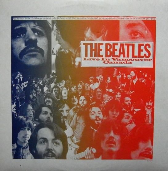Beatles Live Vancouver Canada IA