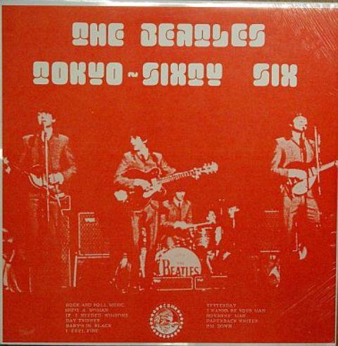 Beatles Tokyo 66 red