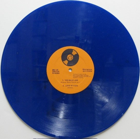 British Blue Jam cv LP