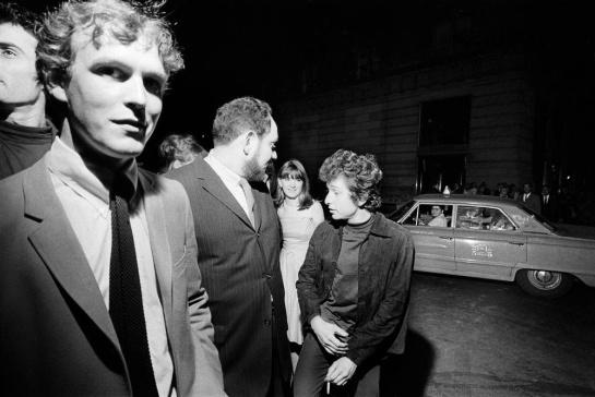 Dylan visits Beatles
