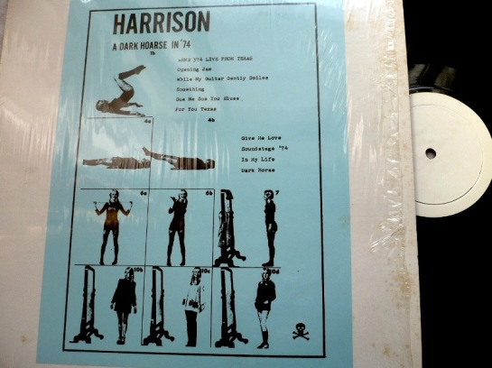Harrison A Dark Hoarse In '74
