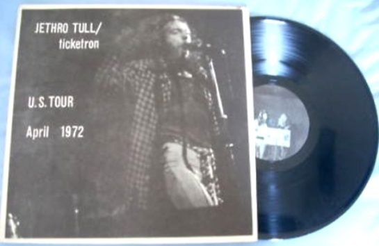 Jethro Tull ticketron
