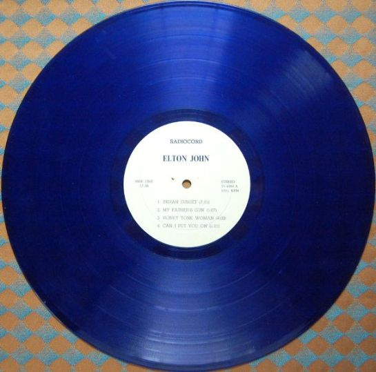John E radiocord disc