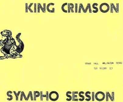 King Crimson Sympho Session 3