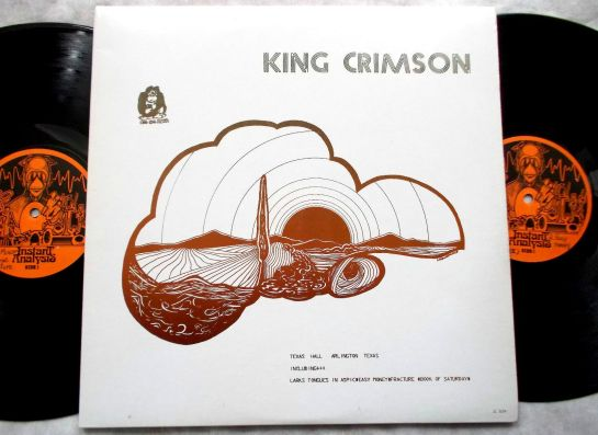 King Crimson Texas Hall JL504 2