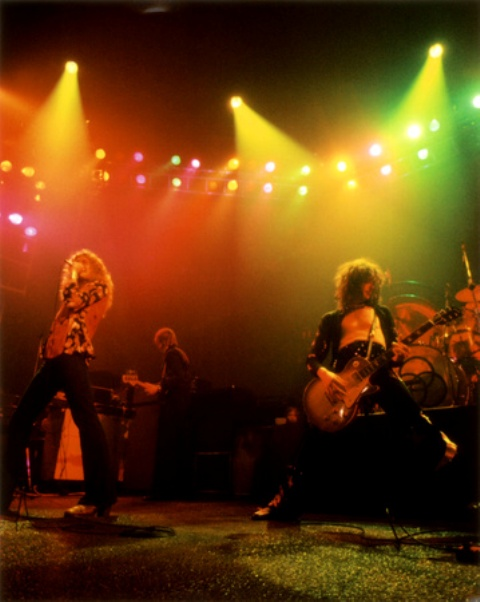 Led Zep Detroit 75