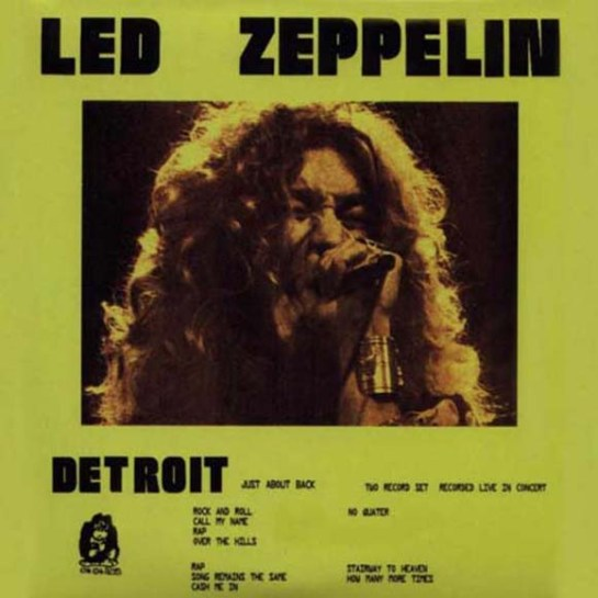 Led Zep Detroit Just About Back 3