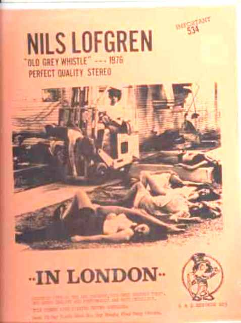 Lofgren N In London 1