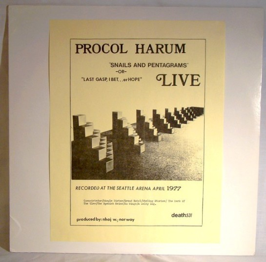 procol harum sap