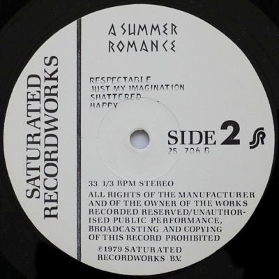 Rolling Stones A Summer Romance w. t. lbl
