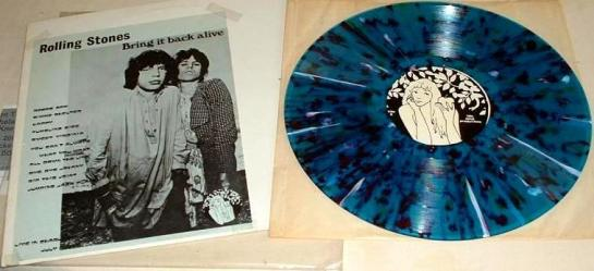 Rolling Stones Bring it back alive blue