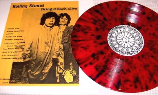 Rolling Stones Bring It Back Alive red