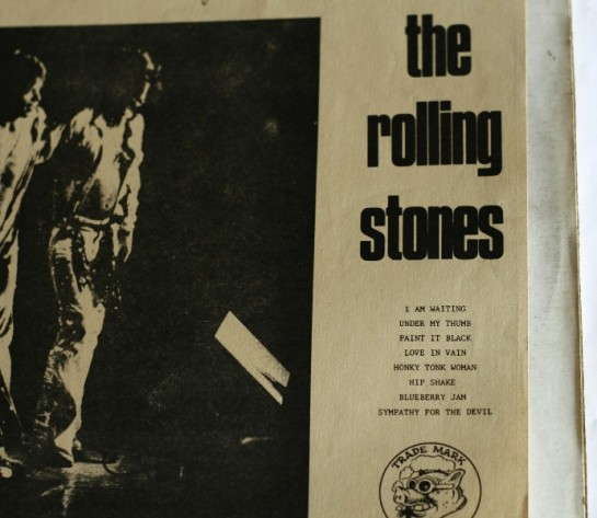 Rolling Stones Smooth detail