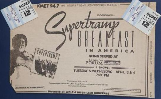 Supertramp LA 79