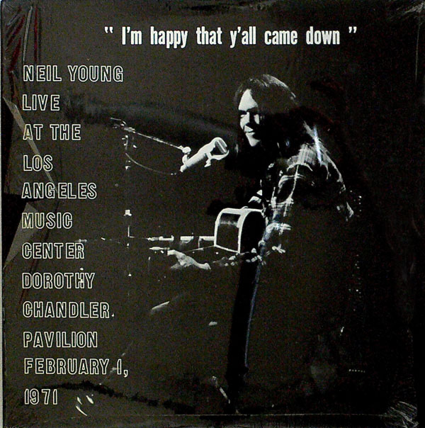 Neil Young - Los Angeles Music Center, February 1, 1971 'YOUNG MAN'S FANCY' :CBM 3245 /