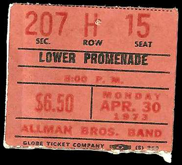 Allman-Bros Nassau Coliseum Apr 30 73