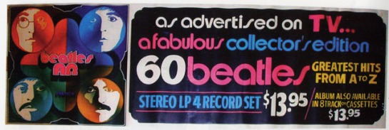 Beatles Alpha & Omega ad