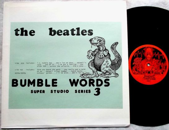 Beatles Bumble Words SSS 3