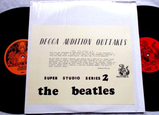 Beatles Decca Aud. Outtakes 4