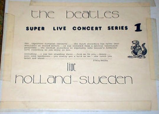 Beatles Holland Sweden SH