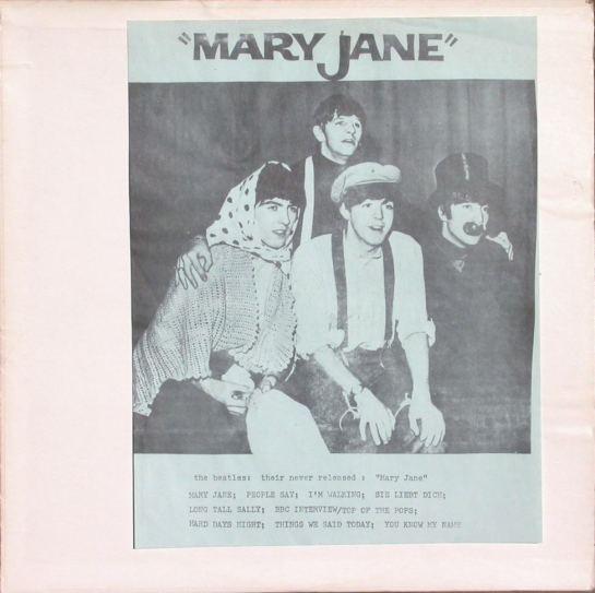 Beatles Mary Jane