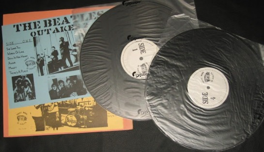 Beatles Outakes 1+2 discs