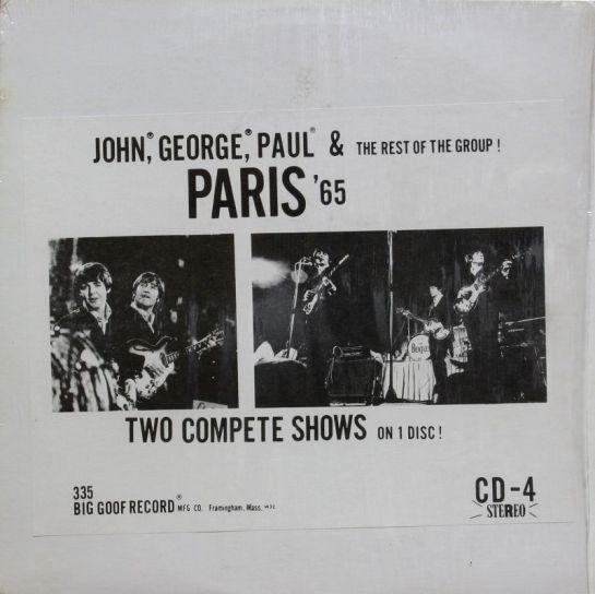 Beatles Paris '65