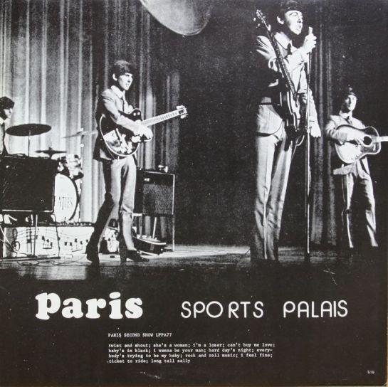 Beatles Paris SP JL 519