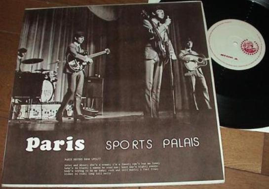 Beatles Paris SP