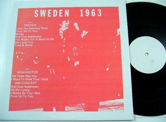 Beatles Sweden 1963 JL 525