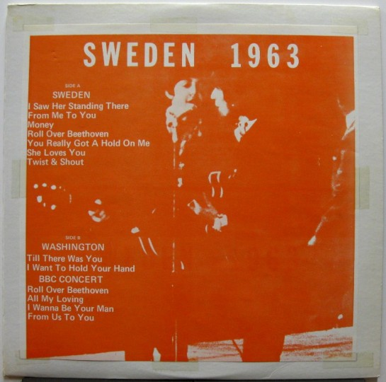 Beatles Sweden 1963 large