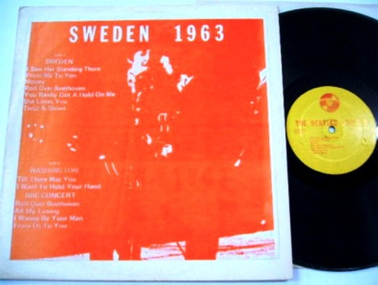 Beatles Sweden 1963