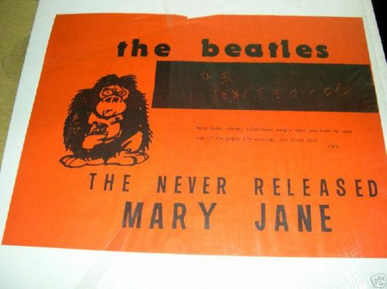 Beatles TNR Mary Jane KK