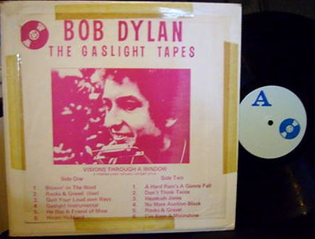Dylan Gaslight Tapes blue lbl