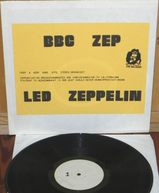Led Zeppelin BBC Zep