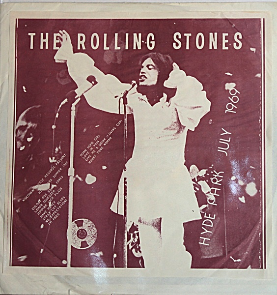 3689 The Rolling Stones Hyde Park July 1969 The