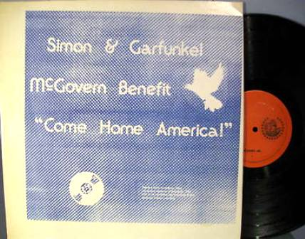 Simon & Garfunkel McGovern Benefit KK