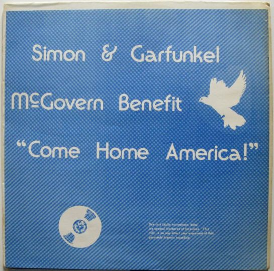 Simon & Garfunkel McGovern Benefit