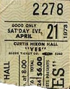 Yes Tampa 73 stub