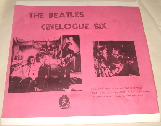 Beatles Cinelogue Six 3