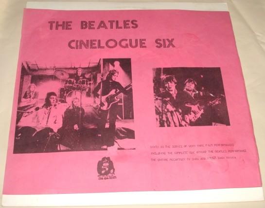 Beatles Cinelogue Six 3