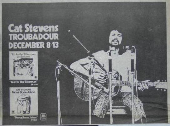 Cat-Stevens-1970-Troubadour-Concert-Poster-Type-Ad