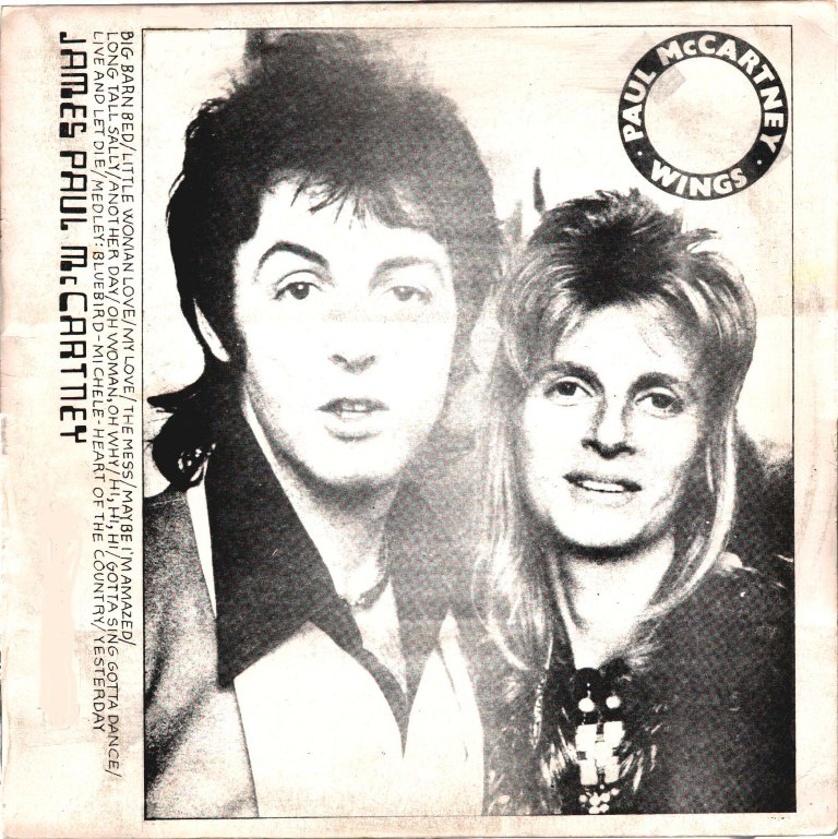 TMoQ 73018: PAUL McCARTNEY * WINGS 'JAMES PAUL McCARTNEY