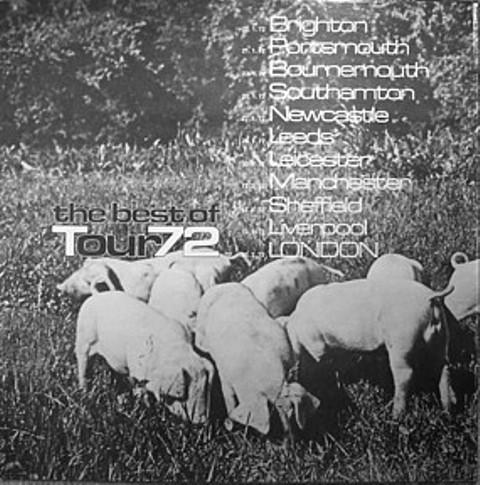 Pink Floyd best of Tour 72 b