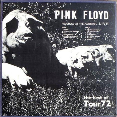 Pink Floyd best of Tour 72 Rainbow
