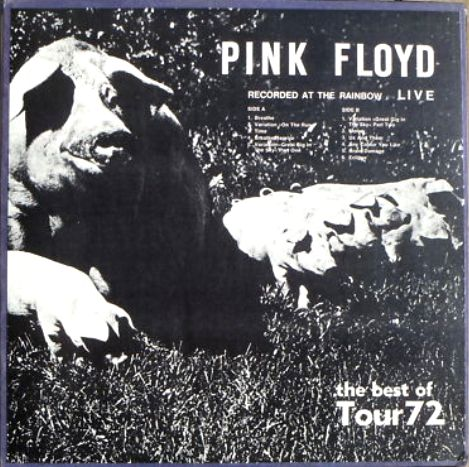 Pink Floyd best of Tour 72 Rainbow