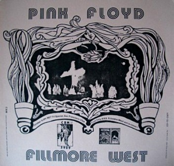 Pink Floyd Fillmore West KKK