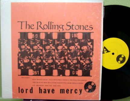 Rolling Stones lord have mercy yel lbl