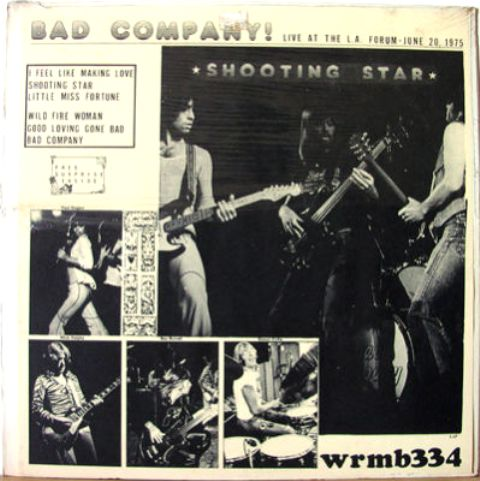 Bad Co Shooting Star 334